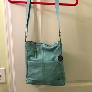 Sak handbag - blue leather